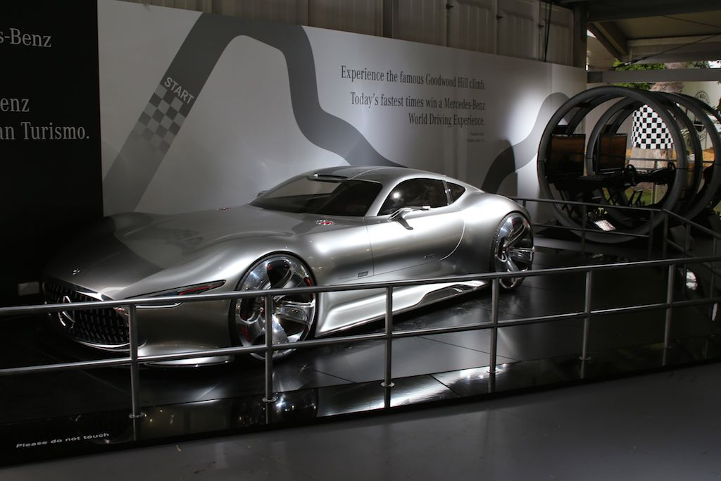 Discovered the Mercedes Benz AMG Vision Gran Turismo as well!